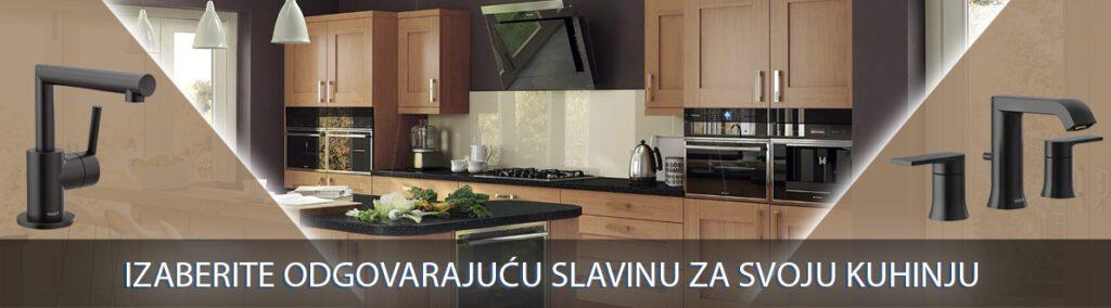 Izaberite odgovarajuću slavinu za svoju kuhinju