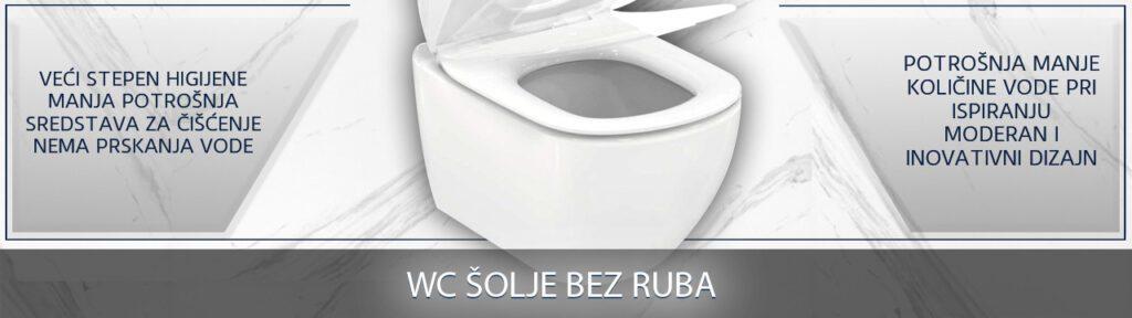 WC šolje bez ruba